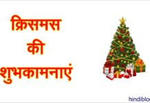 Christmas Shayari Wishes Quotes SMS Greetings Status Messages in Hindi 2018