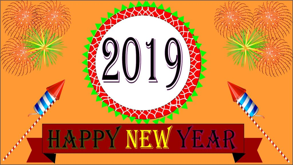 Happy New Year 2019 Shayari Wishes Quotes SMS Status Messages Images Hindi Me