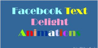 Facebook Text Delight Animation Kya Hai Aur Isse Kaise Use Kare