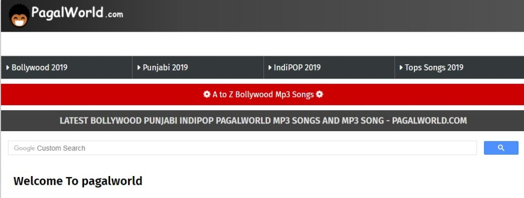 Pagalworld 2019 Website - Download Latest Bollywood Free